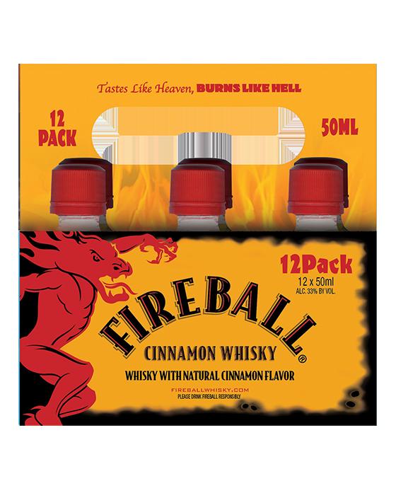 Fireball Whisky 50ML 12 pack
