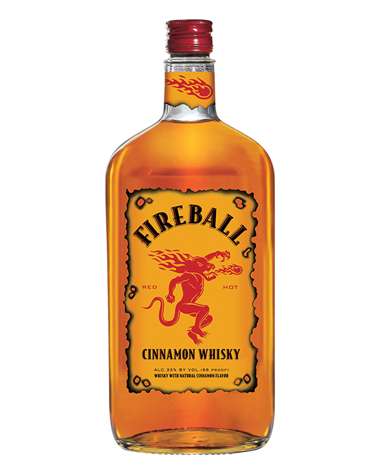 Fireball Whisky 750ML bottle