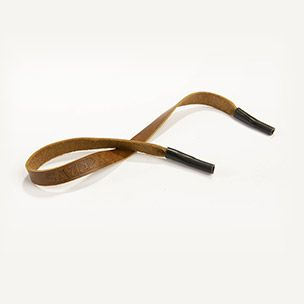 Logo Leather Sunglasses Strap Small