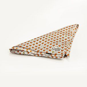 Silk Sazerac Cocktail Pocket Square Small