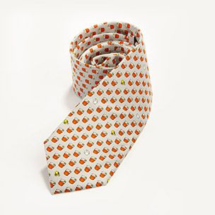 Silk Sazerac Cocktail Tie Small