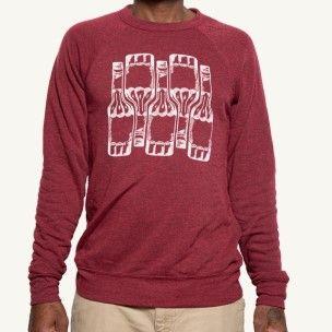 Red Sazerac Rye Bottle Sweatshirt