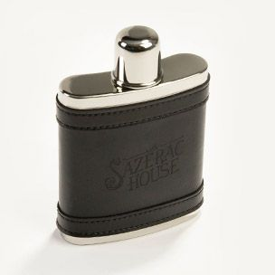 Leather Wrapped Flask Small