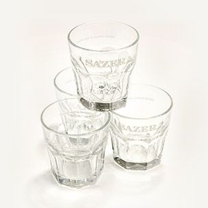 Sazerac Cocktail Glass Set of 4 Small