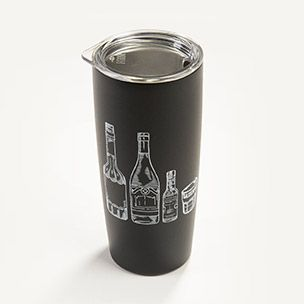 20 oz. Black Tumbler by MiiR Small