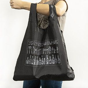 Black Packable Bag Small