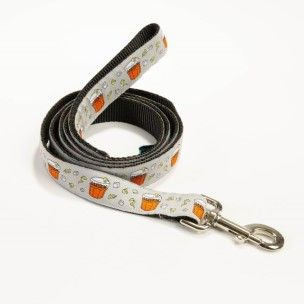 Cocktail Dog Leash - Gray