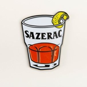 Sazerac Cocktail Pin