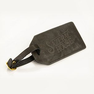 Leather Luggage Tag Small
