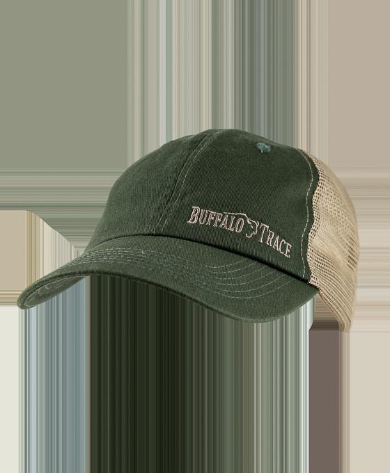 Buffalo Trace Mesh Hat - Green