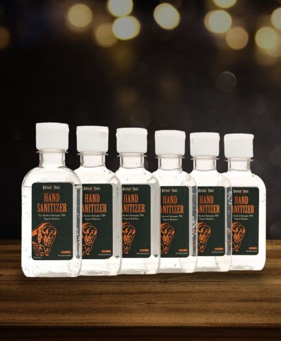 Buffalo Trace Gel Hand Sanitizer 100mL (6 Pack)