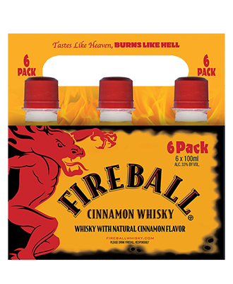 Fireball Carrier Pack, 100ML - 6-pack