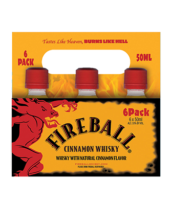 Fireball Carrier Pack, 50ML - 6-pack