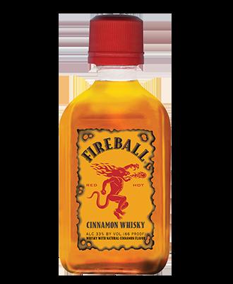 Fireball Whisky 50ML bottle