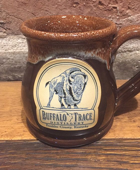 Buffalo Trace Brown Belly Mug