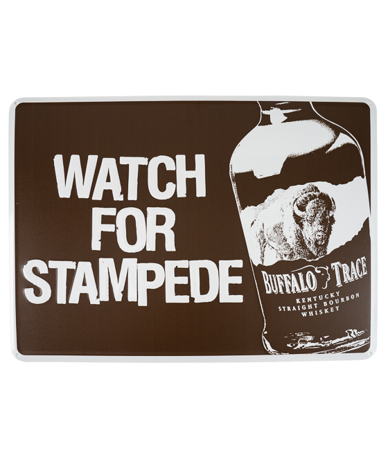 Watch for Stampede sign