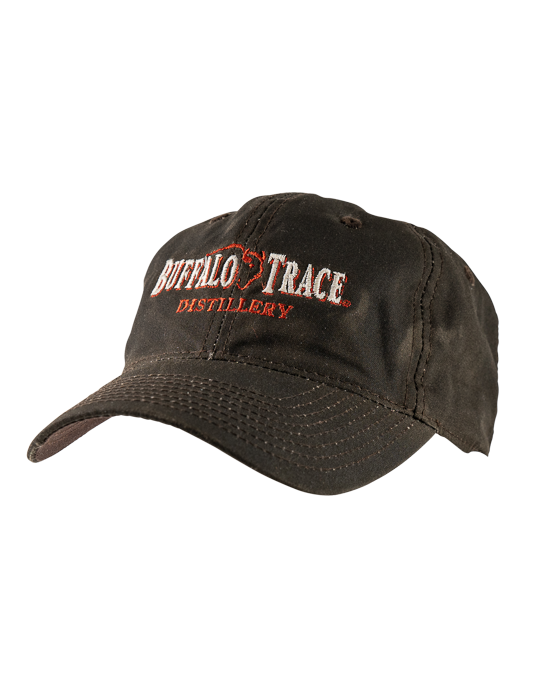Buffalo Trace Brown Waxed Canvas Hat