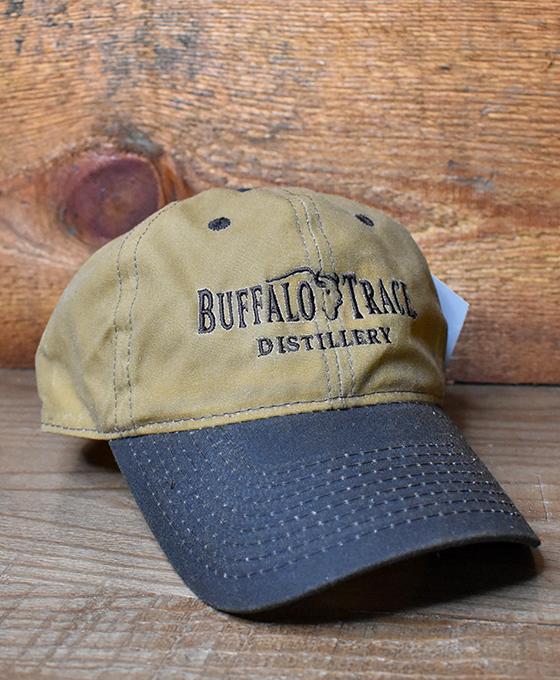 Buffalo Trace Tan  Waxed Hat