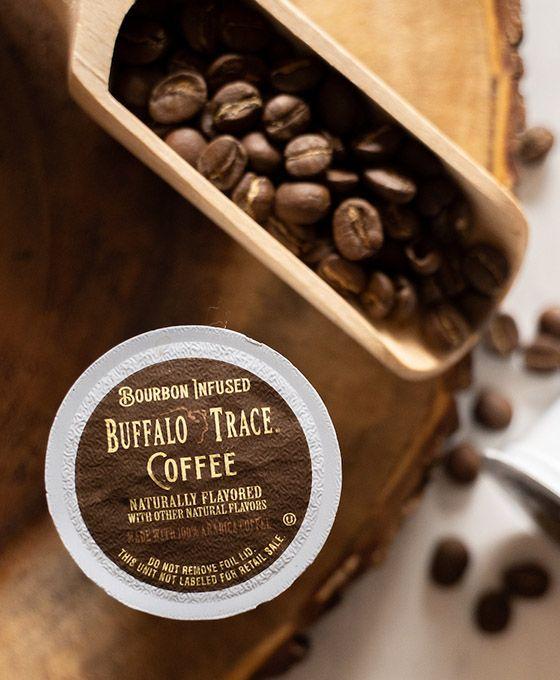 Bourbon Infused Buffalo Trace Coffee (10 Pods)