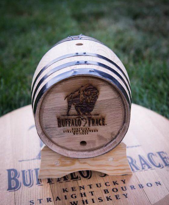 Buffalo Trace 5 Liter Oak Barrel