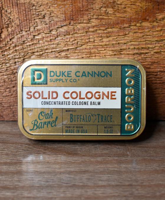 Bourbon Solid Cologne