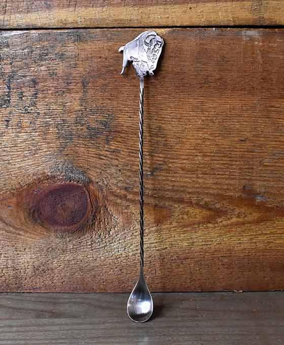 Buffalo Trace Copper Mixing Spoon