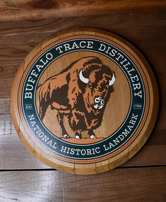 Buffalo Trace Distillery National Historic Landmark Barrel Head