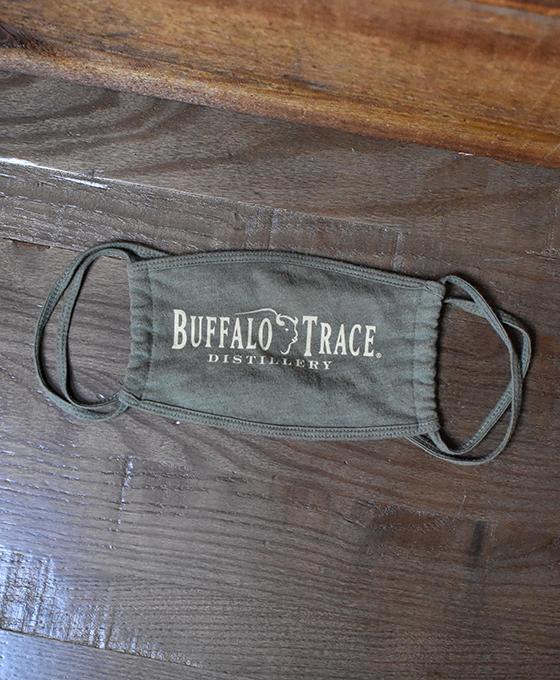 Buffalo Trace Face Mask - Green