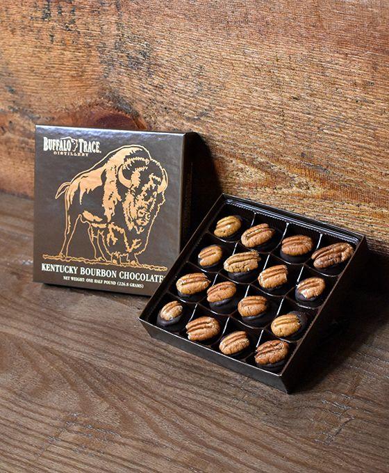 Buffalo Trace Bourbon Balls 1/2 pound box (Curbside Pick-up)