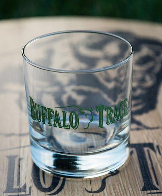 Buffalo Trace Old Fashioned Rocks Glass