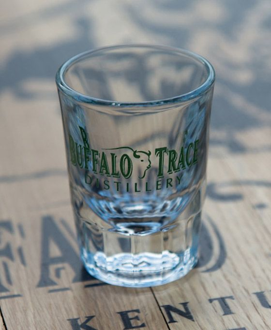 Buffalo Trace Fluted Shot Glass
