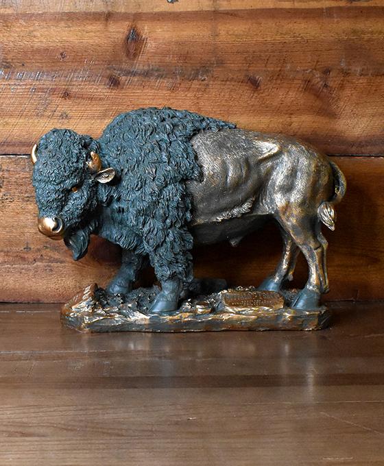 "22"" Buffalo Statue"