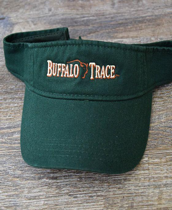 Buffalo Trace Green Visor