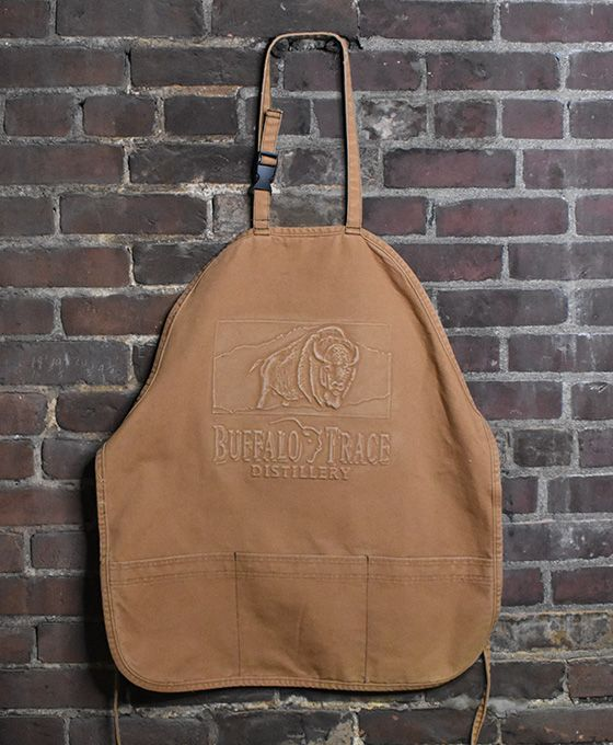 Buffalo Trace Brown Denim Apron