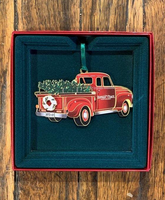Buffalo Trace Fire Truck Ornament