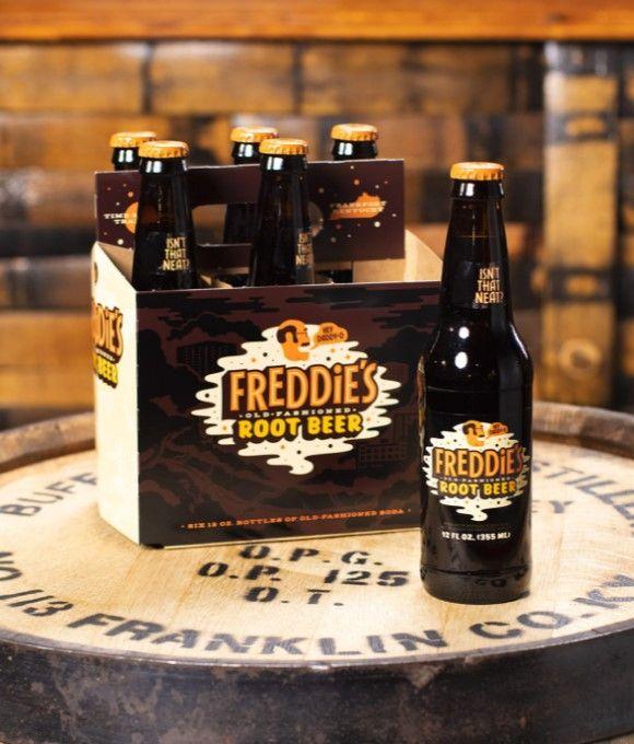 Freddie's Root Beer 24 bottle case (Curbside Pick-up)
