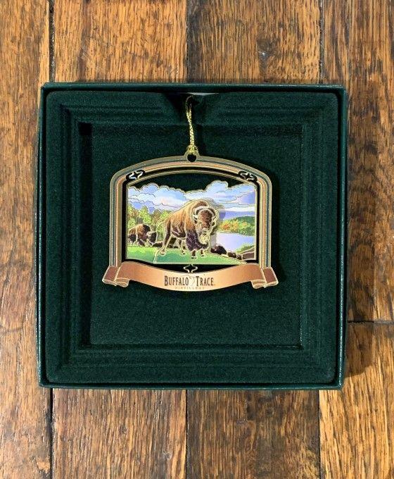Buffalo Trace Standing Buffalo Ornament