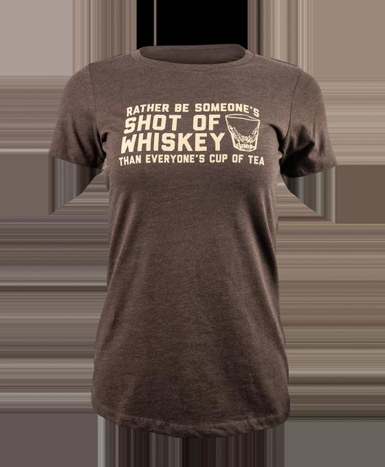 Ladies' Shot of Whiskey T-Shirt