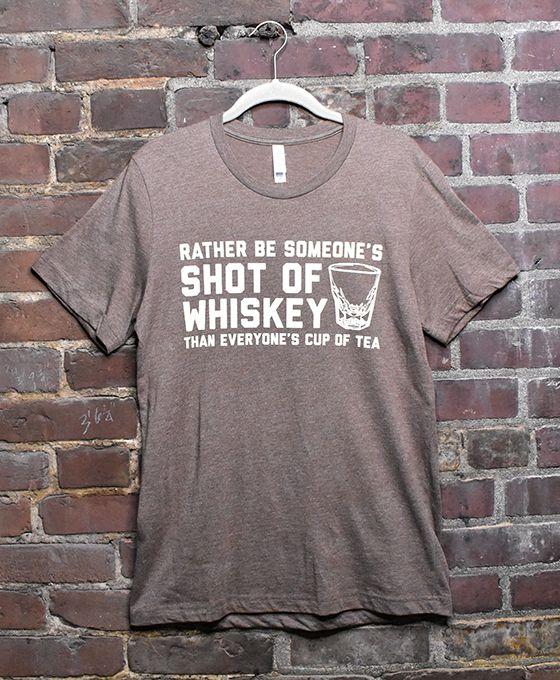 Mens' Shot of Whiskey T-Shirt