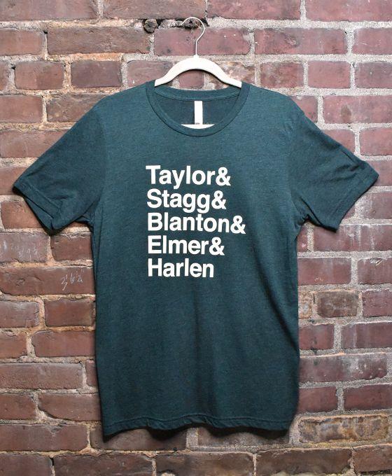 Taylor, Stagg, Blanton, Elmer & Harlen T-Shirt