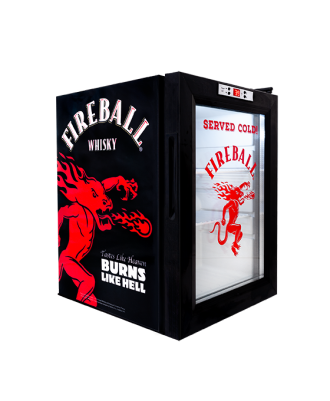 Fireball Counter Refrigerator