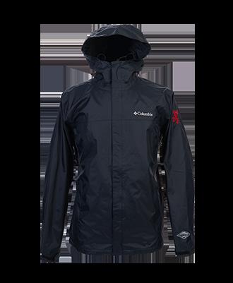Fireball Men's Columbia Rain Jacket