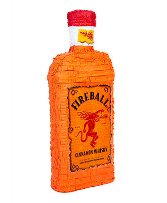 Fireball Bottle Pinata