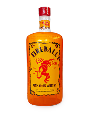 6' Inflatable Fireball Bottle