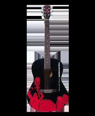 Fireball Acoustic Guitar