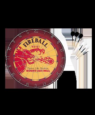 Fireball Custom Dart Board